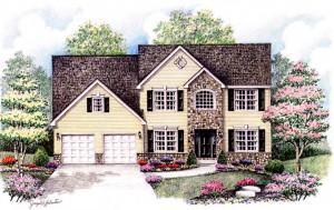 Model home Hampshire